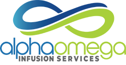 AlphaOmegaRX Infusion Services Logo